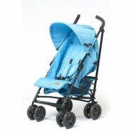 Trille BabyTrold Sprinter paraplyvagn (Svart/Turkos)