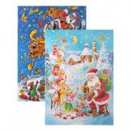 Adventskalender Choklad Julmotiv