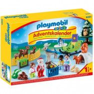 "Playmobil, 1.2.3 - Adventskalender ""Jul i djurens skog"""