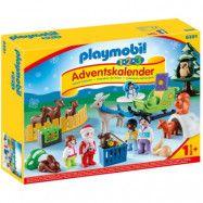 Playmobil Christmas 1.2.3 Jul i djurens skog Adventskalender 9391