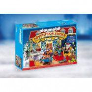Playmobil Christmas Adventskalender Tomtens besök i leksaksaffären