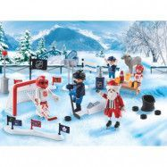 Playmobil Christmas - NHL Tävling på dammen Adventskalender 9017