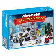 Playmobil City Action Adventskalender 9007, Polisjakt på Juveltjuven