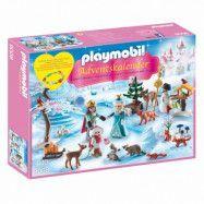 Playmobil Princess Adventskalender 9008, Kunglig skridskotur