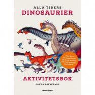 Alla tiders Dinosaurier (Pussel 150-bitar och bok)