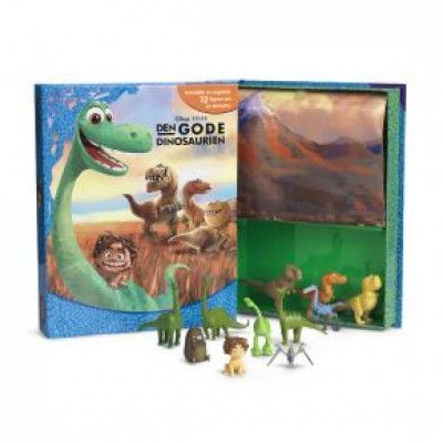 Den Gode Dinosaurien - Aktivitetsbok med figurer och lekmatta