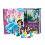 Disney Princess - Aktivitetsbok med figurer och lekmatta