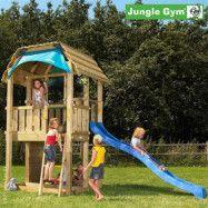 Jungle Gym Barn lektorn komplett inkl. rutschkana