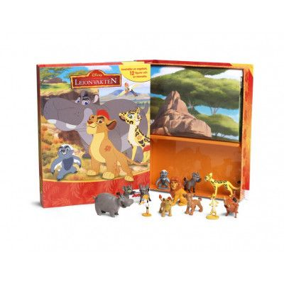 Lejonvakten - Aktivitetsbok med figurer och lekmatta