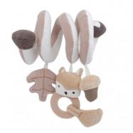 Sebra aktivitetsspiral Woodland, mushroom brown