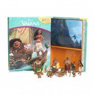 Vaiana - Aktivitetsbok med figurer och lekmatta
