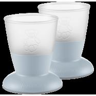 BABYBJÖRN Barnglas, 2-pack - Blekblå