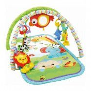 Fisher-Price - Rainforest Friends 3-in-1 Musical Activity Babygym
