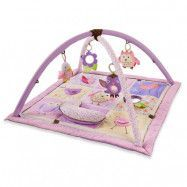Skip Hop Babygym Owl Patch rosa/lila