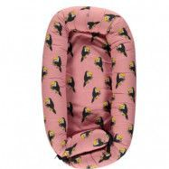 Småfolk Babynest Toucan Blush
