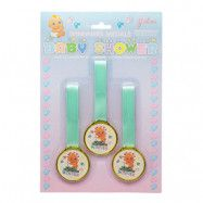 Babyshower Medaljer - 3-pack