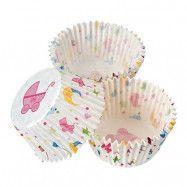 Muffinsformar Baby Shower - 100-pack