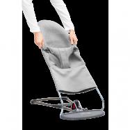BABYBJÖRN Extra Tygsits till Babysitter Bliss - Ljusgrå, 3D Jersey