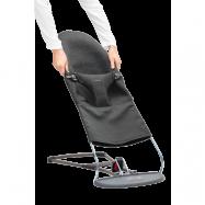 BABYBJÖRN Extra Tygsits till Babysitter Bliss - Svartgrå, 3D Jersey