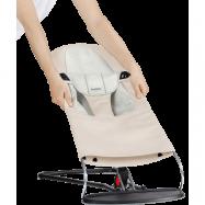BABYBJÖRN Tygsits till Babysitter Balance Soft Beige/Grå
