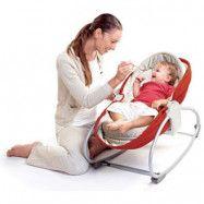 Tiny Love - Kombinerad babysitter och säng  (Röd)
