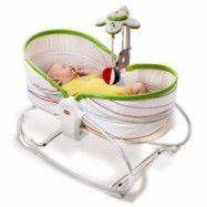 Tiny Love - Kombinerad babysitter och säng  (Vit)