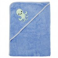 ImseVimse Badcape Blue Octopus