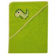 ImseVimse Badcape Green Dino