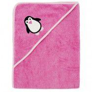 ImseVimse Badcape Pink Penguin