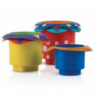 Nuby Badleksak Stacking Cups 5-pack