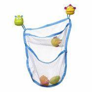 Teddykompaniet - Ted in Tub Förvaringsnät för badleksaker (Djungel)