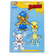 Bamse - Pepparkaksformar