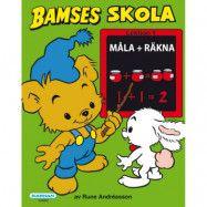 Bamses Skola Måla + Räkna