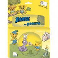 Egmont Kärnan Bamse, Bamse&Bronto Bok med CD