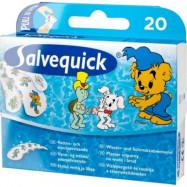 Salvequick Plåster Bamse 20 st