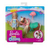 Barbie Chelsea&Pony (Blonde)