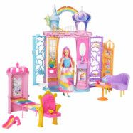 Barbie - Rainbow Castle&Doll