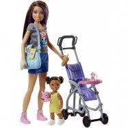 Barbie - Skipper Babysitters INC - Barnvakt med sulky