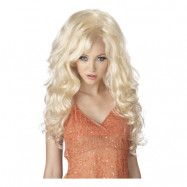 Blond Barbie Peruk - One size