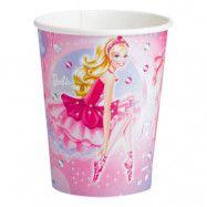 Pappersmuggar Barbie Ballerina - 8-pack