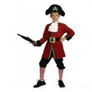 Kapten Krok Barn Maskeraddräkt - Small