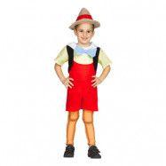 Pinocchio Barn Maskeraddräkt - Medium