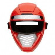 Power Rangers Röd Mask Barn - One size