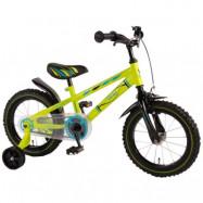 """Volare, Barncykel med stödhjul - Electric 14""""grön"""