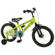 """Volare, Barncykel med stödhjul - Electric 16""""grön"""