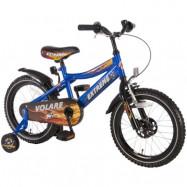 """Volare, Barncykel med stödhjul - Extreme 16""""blå"""