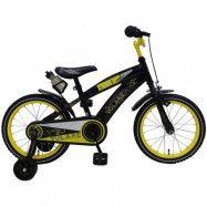 """Volare, Barncykel med stödhjul - Freedom 16""""svart&gul"""
