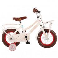 """Volare, Barncykel med stödhjul - LIEF 12""""vit"""