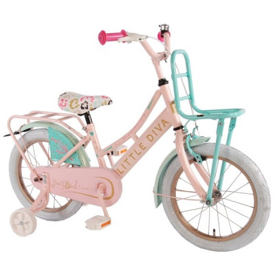 Volare, Barncykel med stödhjul - Little Diva 16