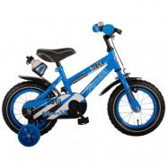 """Volare, Barncykel med stödhjul - Paisley 12""""blå"""